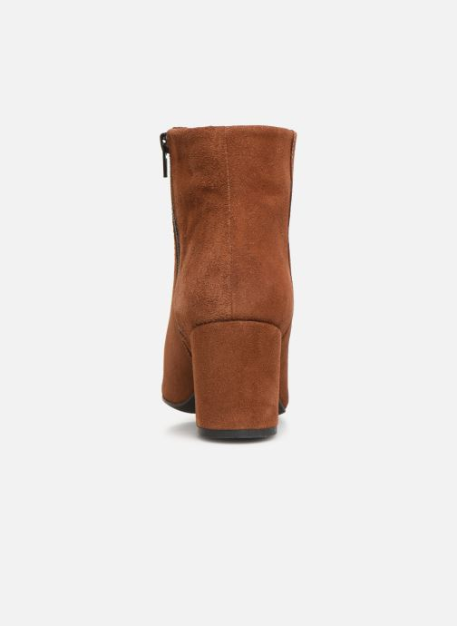 Bottines et boots Vero Moda VMASTRID LEATHER BOOT Marron vue droite