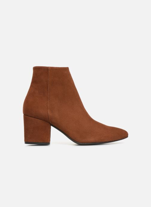 Bottines et boots Vero Moda VMASTRID LEATHER BOOT Marron vue derrière