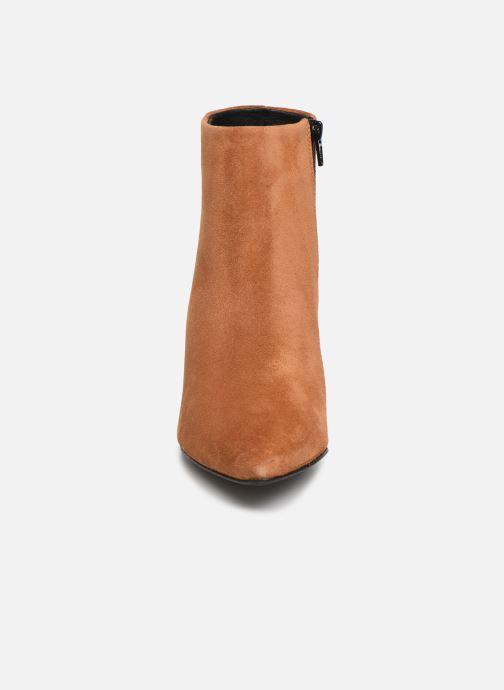 Boots en enkellaarsjes Vero Moda VMASTRID LEATHER BOOT Bruin model
