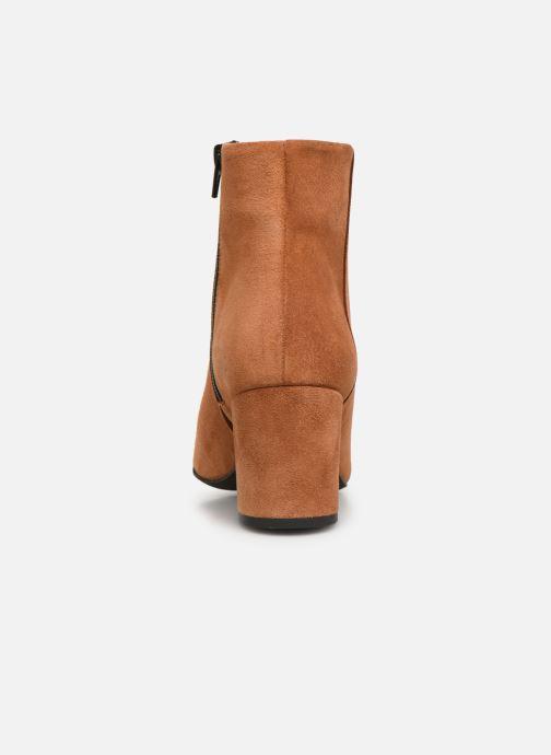 Boots en enkellaarsjes Vero Moda VMASTRID LEATHER BOOT Bruin rechts
