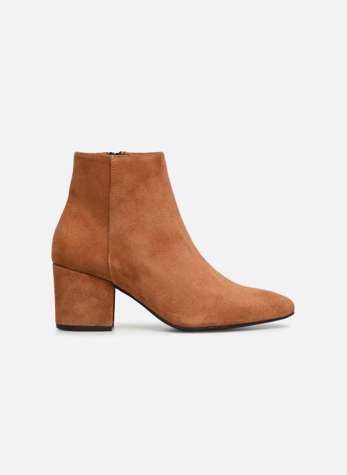 Boots en enkellaarsjes Vero Moda VMASTRID LEATHER BOOT Bruin achterkant