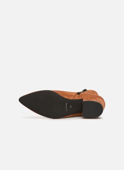 Boots en enkellaarsjes Vero Moda VMASTRID LEATHER BOOT Bruin boven