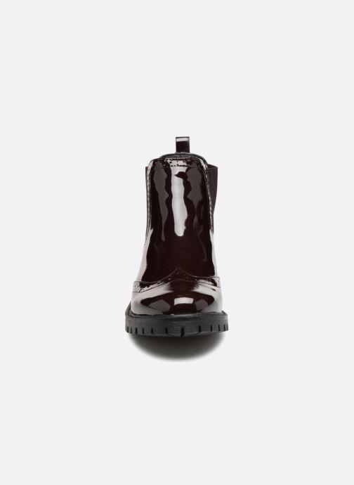 Ankle boots Vero Moda VMGLORIA SHINE BOOT 2 Purple model view
