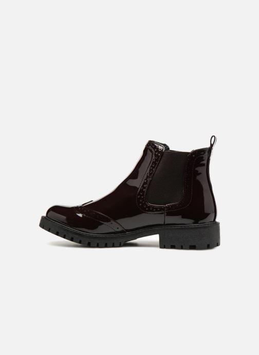 Ankle boots Vero Moda VMGLORIA SHINE BOOT 2 Purple front view