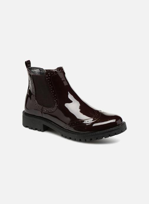 Ankle boots Vero Moda VMGLORIA SHINE BOOT 2 Purple detailed view/ Pair view