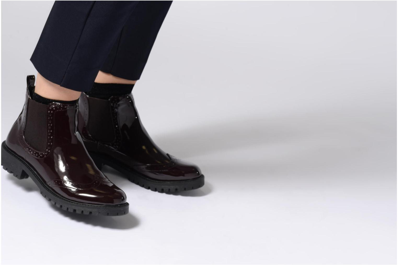 Bottines et boots Vero Moda VMGLORIA SHINE BOOT 2 Violet vue bas / vue portée sac