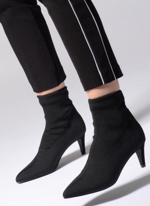 Stiefeletten & Boots Vero Moda VMSTELLA BOOT schwarz ansicht von unten / tasche getragen