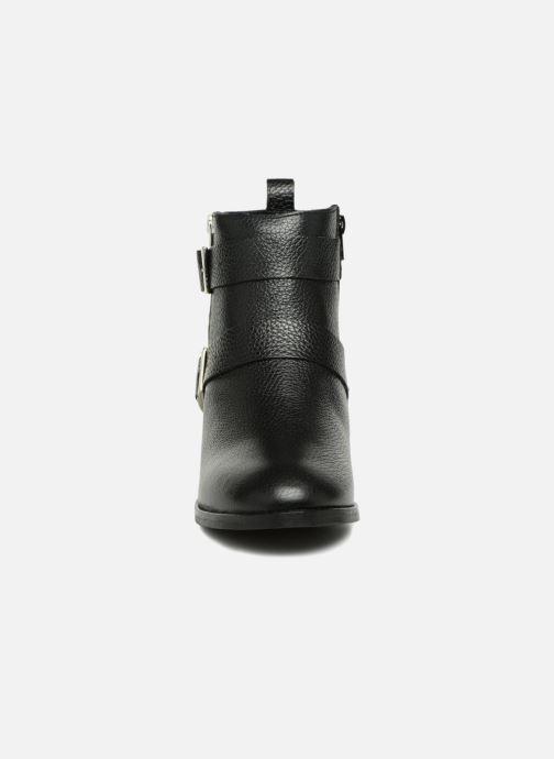 Bottines et boots Vero Moda VMSINO LEATHER BOOT Noir vue portées chaussures
