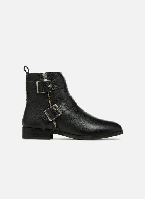 Boots en enkellaarsjes Vero Moda VMSINO LEATHER BOOT Zwart achterkant
