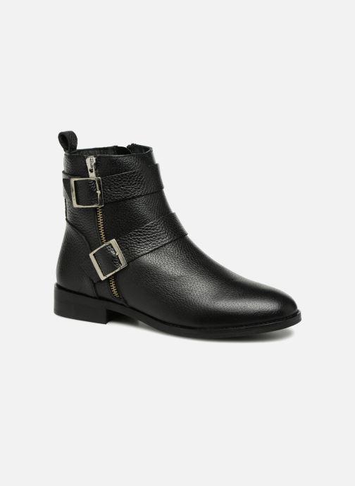 Bottines et boots Vero Moda VMSINO LEATHER BOOT Noir vue détail/paire
