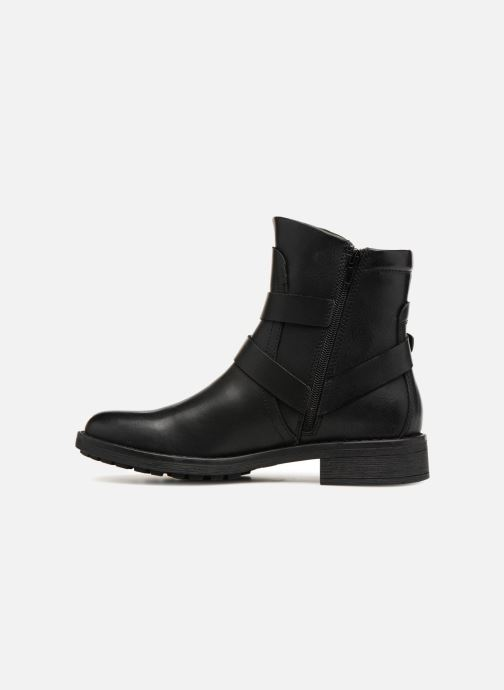 Bottines et boots Vero Moda VMVILMA LEATHER BOOT Noir vue face