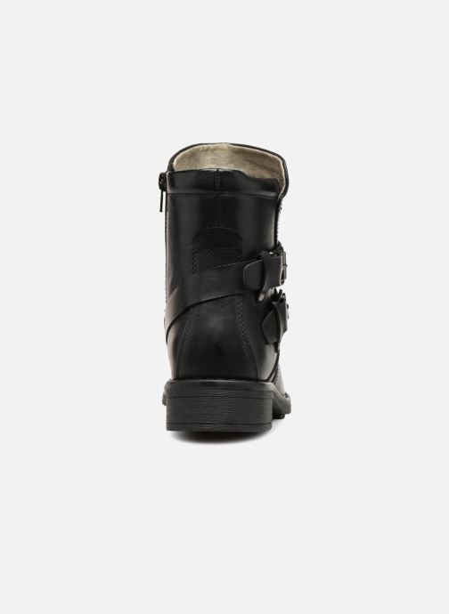 Bottines et boots Vero Moda VMVILMA LEATHER BOOT Noir vue droite