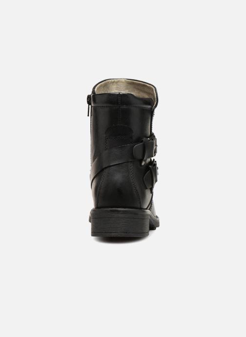 Stiefeletten & Boots Vero Moda VMVILMA LEATHER BOOT schwarz ansicht von rechts