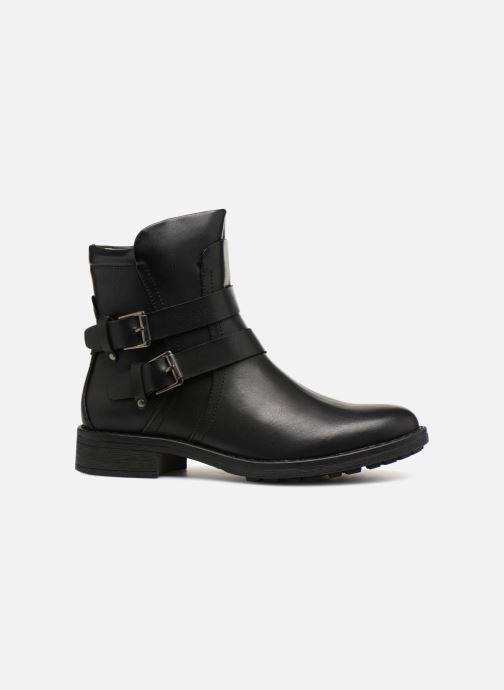Stiefeletten & Boots Vero Moda VMVILMA LEATHER BOOT schwarz ansicht von hinten