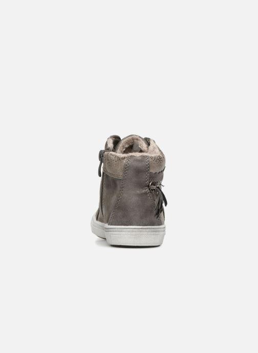 Baskets I Love Shoes SUPSTUDS Gris vue droite