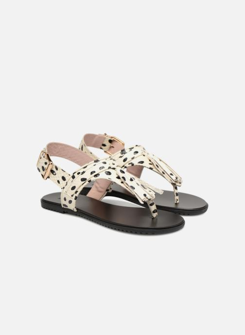 Sandales et nu-pieds L37 Glam Summer Blanc vue 3/4