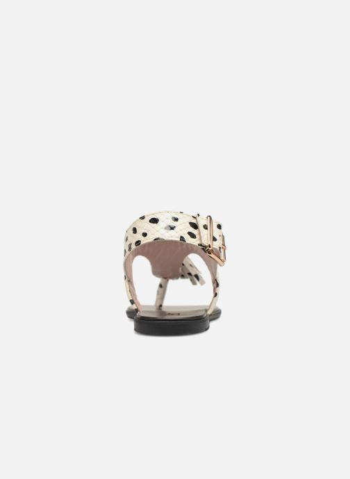 Sandales et nu-pieds L37 Glam Summer Blanc vue droite