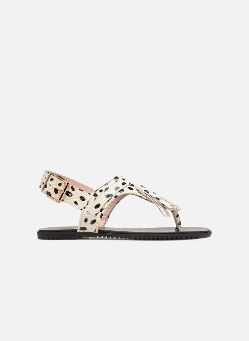 Sandales et nu-pieds L37 Glam Summer Blanc vue derrière