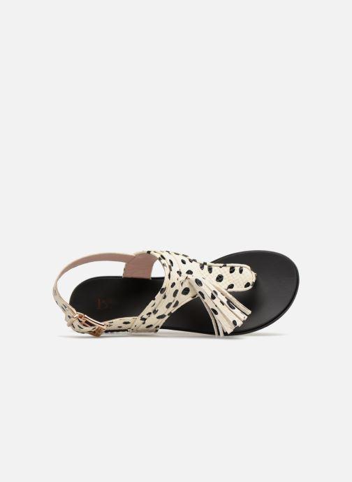Sandales et nu-pieds L37 Glam Summer Blanc vue gauche