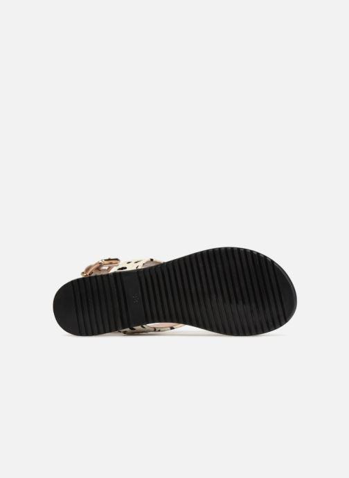 Sandales et nu-pieds L37 Glam Summer Blanc vue haut