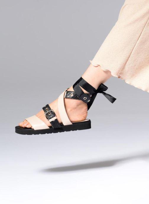 Sandales et nu-pieds L37 Gypsy Rock Noir vue bas / vue portée sac