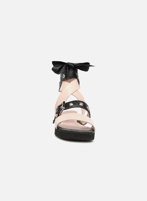Sandales et nu-pieds L37 Gypsy Rock Noir vue portées chaussures