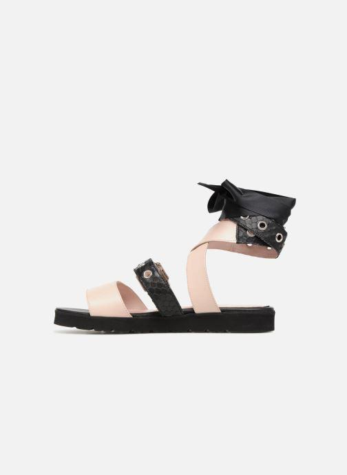 Sandales et nu-pieds L37 Gypsy Rock Noir vue face