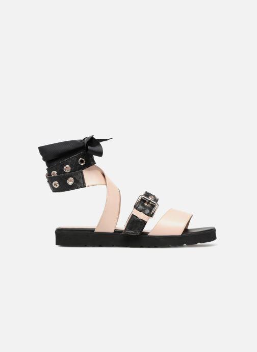 Sandales et nu-pieds L37 Gypsy Rock Noir vue derrière