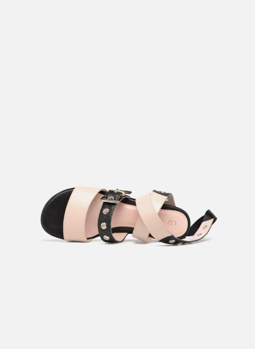 Sandales et nu-pieds L37 Gypsy Rock Noir vue gauche