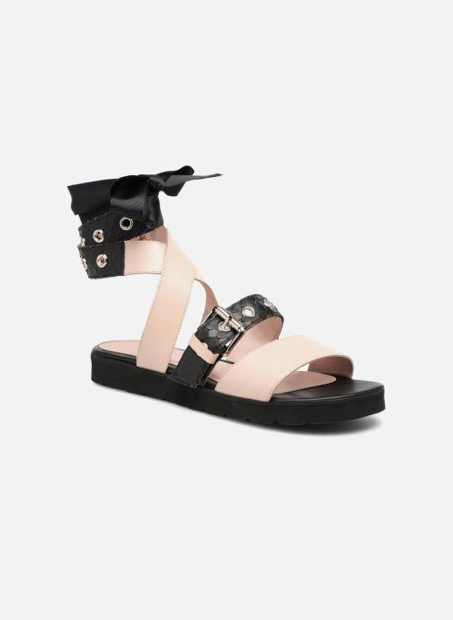 Sandales et nu-pieds L37 Gypsy Rock Noir vue détail/paire