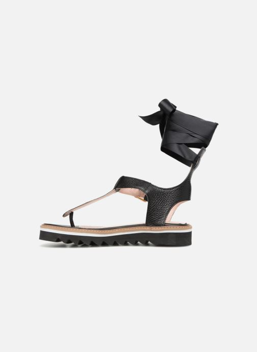 Sandales et nu-pieds L37 Sunny Sky Noir vue face