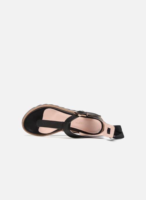 Sandales et nu-pieds L37 Sunny Sky Noir vue gauche