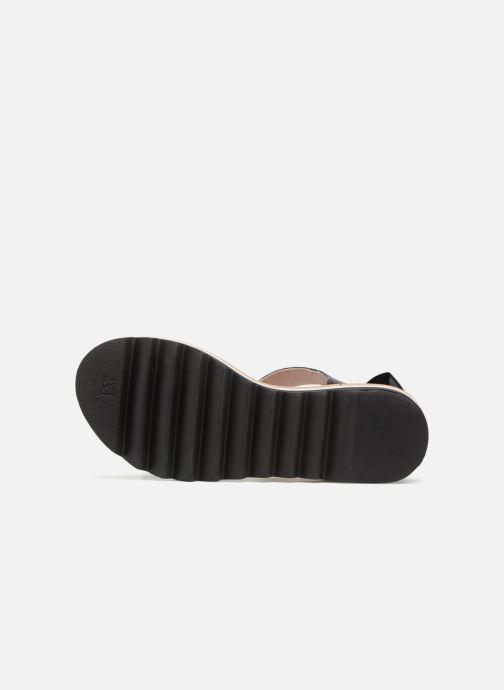 Sandales et nu-pieds L37 Sunny Sky Noir vue haut