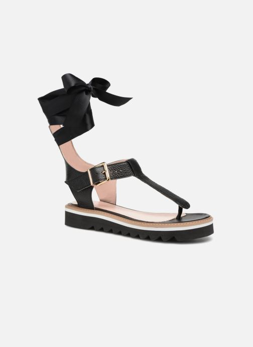 Sandales et nu-pieds L37 Sunny Sky Noir vue détail/paire