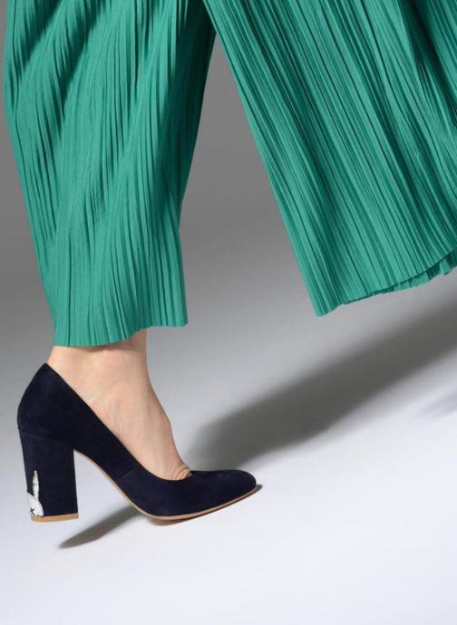 Zapatos de tacón L37 Lady Rabbit Azul vista de abajo