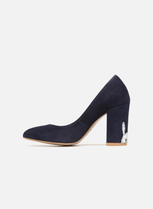 Zapatos de tacón L37 Lady Rabbit Azul vista de frente