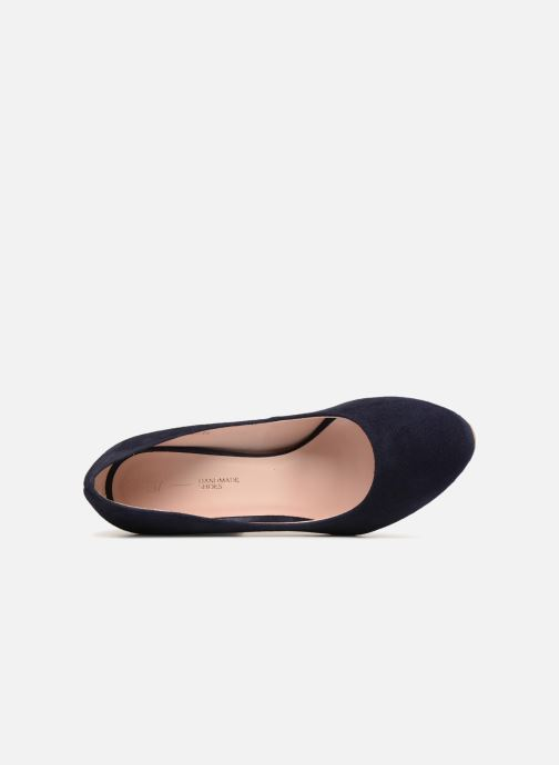 Zapatos de tacón L37 Lady Rabbit Azul vista lateral izquierda