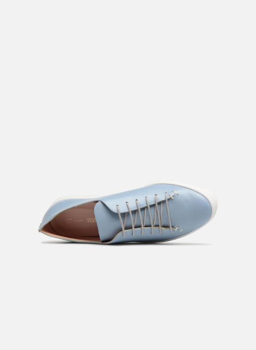 Sneakers L37 Angie Blauw links