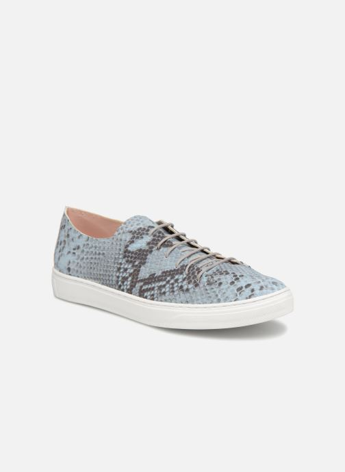 Sneakers L37 Angie Blauw detail