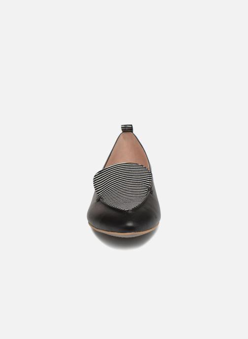 Mocassins L37 Honey Comb Noir vue portées chaussures