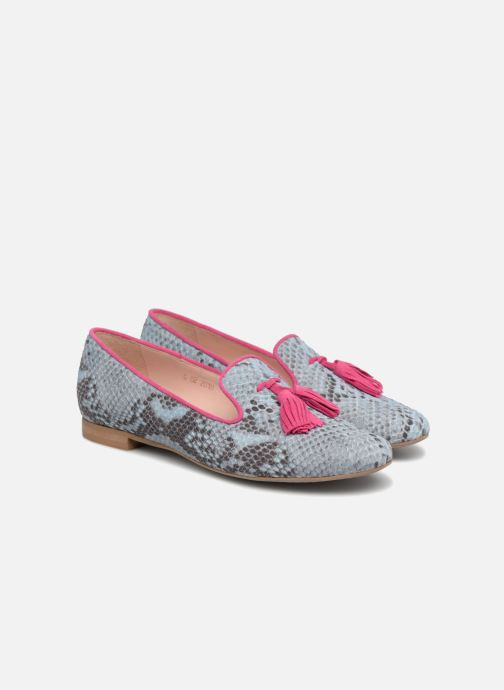 Loafers L37 Cinderella Blue 3/4 view