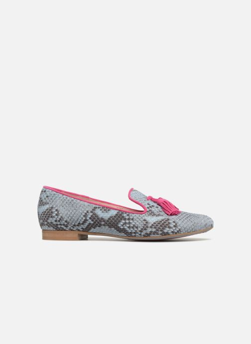 Loafers L37 Cinderella Blue back view