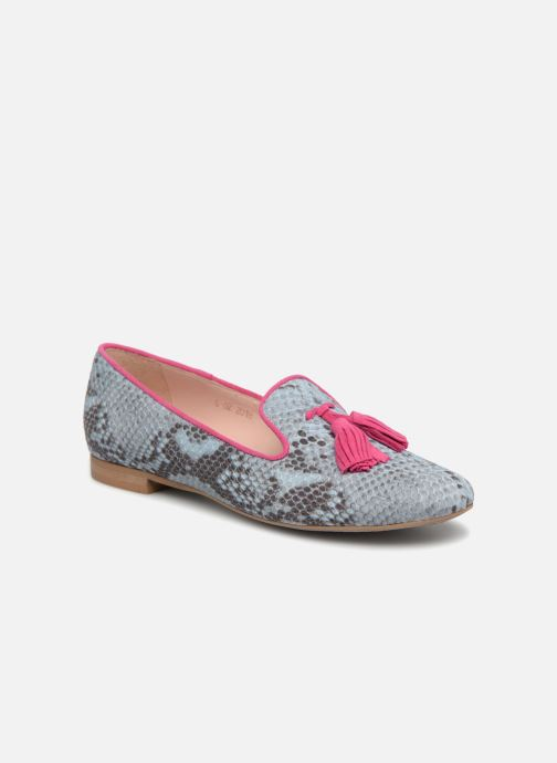 Loafers L37 Cinderella Blue detailed view/ Pair view