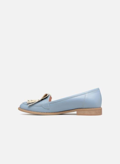 Loafers L37 Loft Moccasins 1 Blue front view