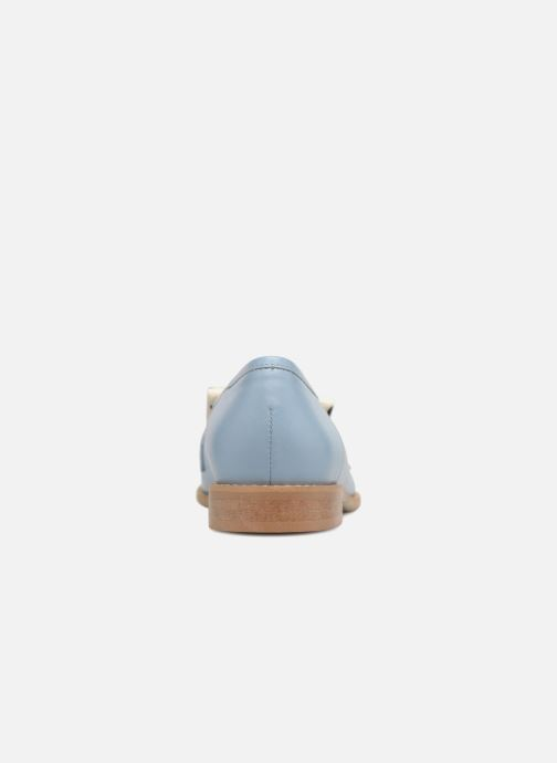 Loafers L37 Loft Moccasins 1 Blue view from the right