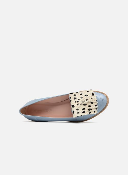 Loafers L37 Loft Moccasins 1 Blue view from the left