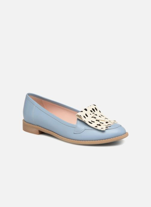 Loafers L37 Loft Moccasins 1 Blue detailed view/ Pair view