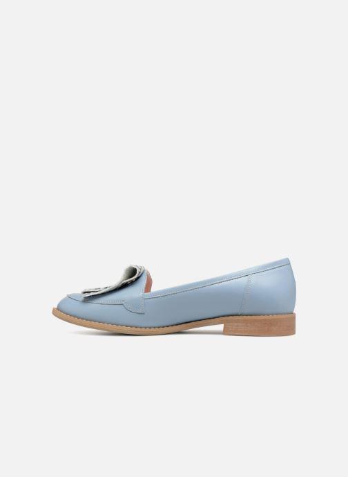 Loafers L37 Loft Moccasins 2 Blue front view