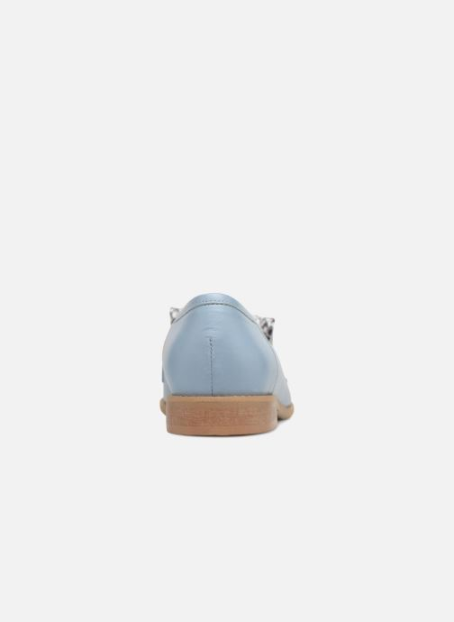 Loafers L37 Loft Moccasins 2 Blue view from the right