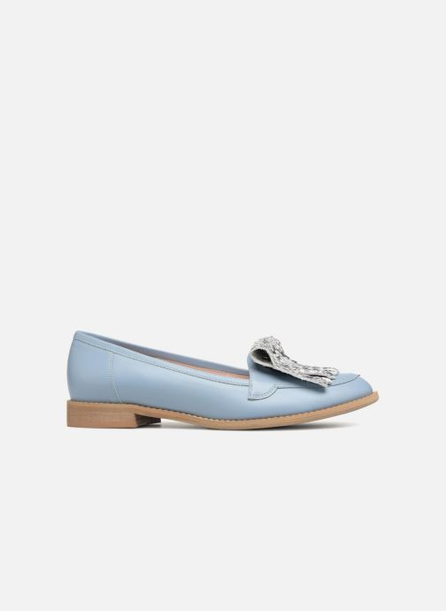 Loafers L37 Loft Moccasins 2 Blue back view